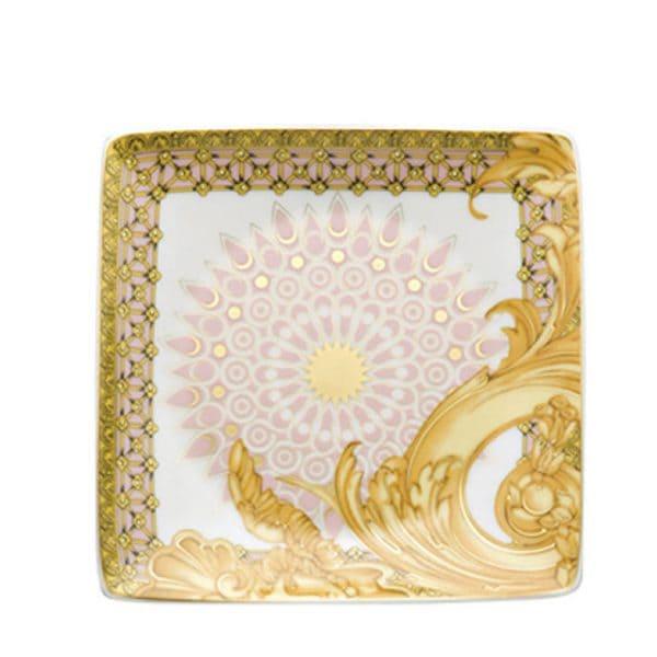 bomboniere Coppetta quadra 12 cm Les Reves Byzantins di Rosenthal Versace