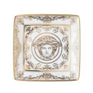 Bomboniera Versace Coppetta quadra 12 cm Medusa Gala di Rosenthal Versace
