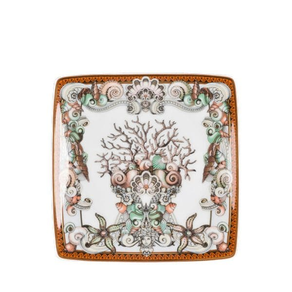 Versace Les Étoiles de la Mer 12 cm square dish Mediterranean sea Gianni Versace
