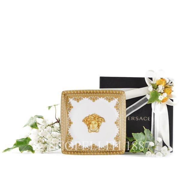 Elegante bomboniera di matrimonio Versace in porcellana