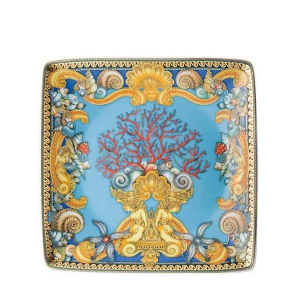 Coppetta quadra 12 cm Les Tresors de la Mer Rosenthal Versace