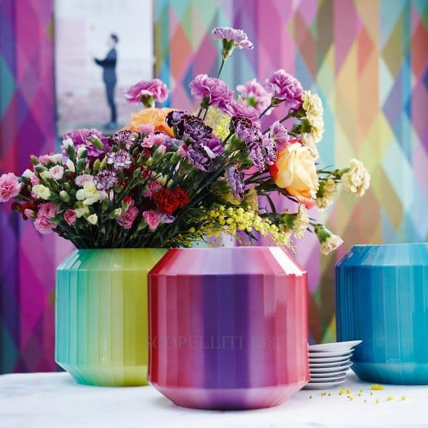 vaso flashy red 22 cm hot-spots di rosenthal studio-line