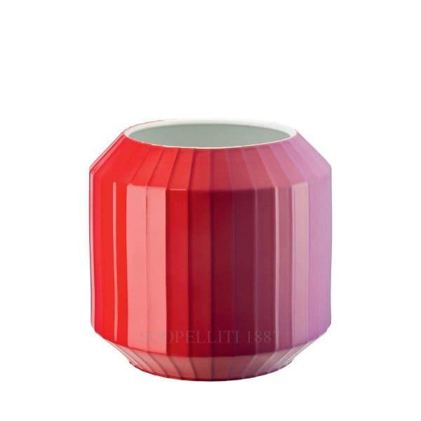 "Vaso Flashy Red 22 cm ""Hot-Spots"" di Rosenthal Studio-line"