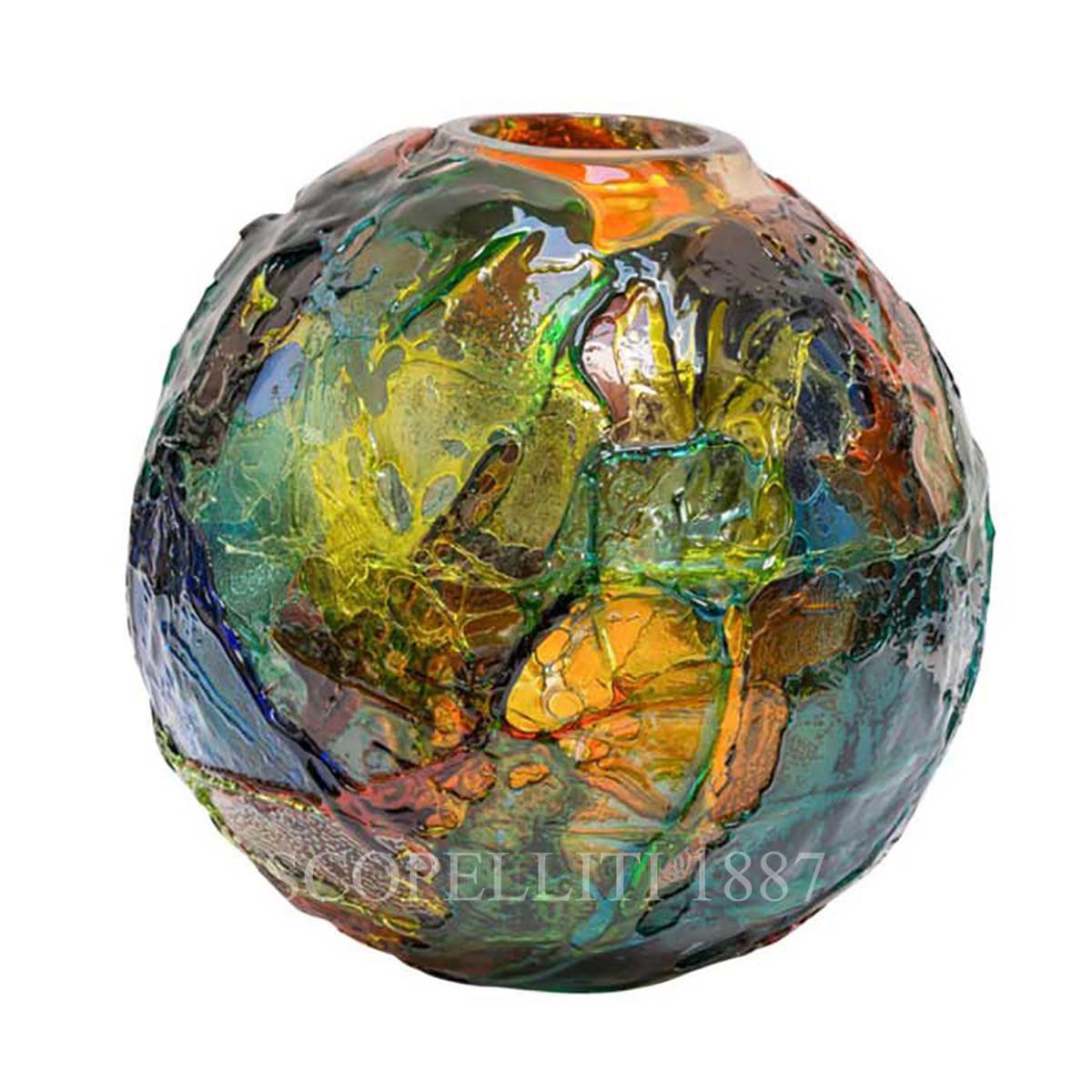 Venini murano vaso geacolor di gae aulenti scopelliti 1887 for Serigrafia bicchieri