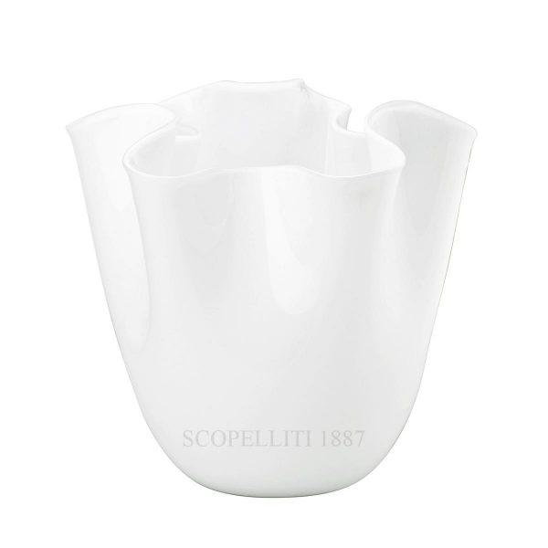 Fazzoletto opalino bianco 700.02, Venini