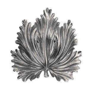"""Foglia """"Acanto"""" 20 cm in argento 925 Buccellati"""