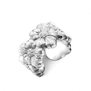 """Anello """"Gardenia"""" in argento 925, Buccellati"""
