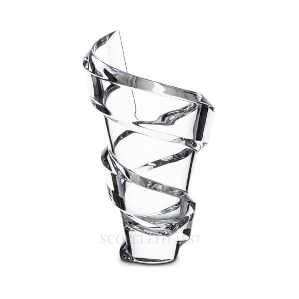 Vaso Spirale 27 cm in cristallo Baccarat