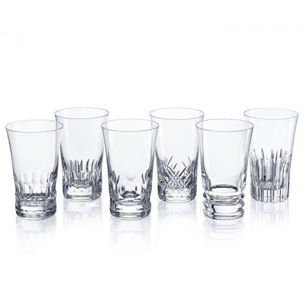 Set 6 bicchieri bibita Everyday in cristallo di Baccarat