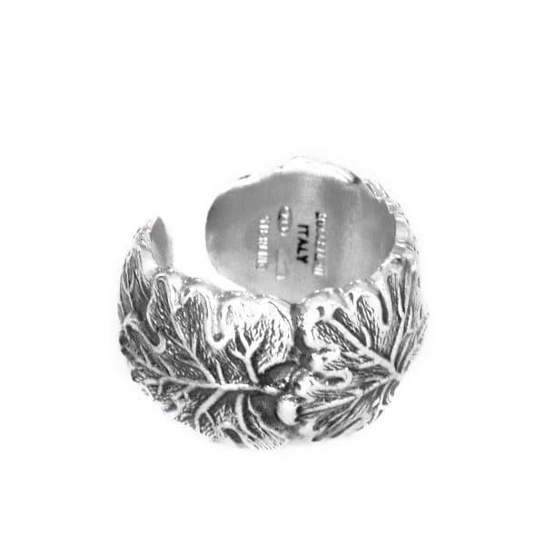 """Anello in argento """"Vite"""" di Buccellati"""