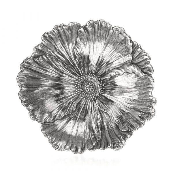 "Fiore ""Papavero"" 18 cm in argento 925 Buccellati"