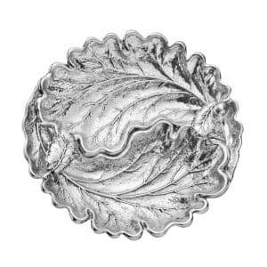 """Foglia """"Le querce"""" 18 cm in argento 925, Buccellati"""