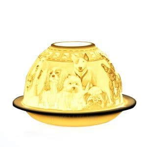 Dogs lithophanie Bernardaud