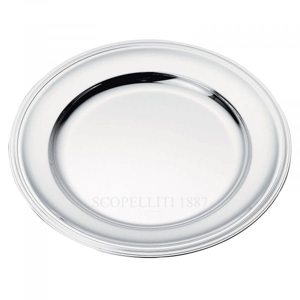 albi round platter by christofle
