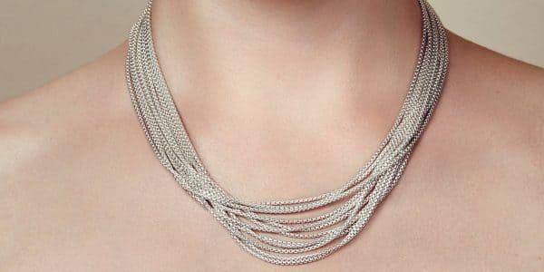 Collana girocollo in argento Madison Style di Christofle