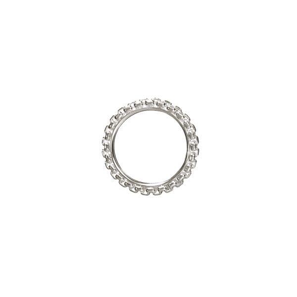 Anello in argento Madison Style di Christofle