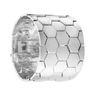 Bracciale in argento Code Royal GM di Christofle