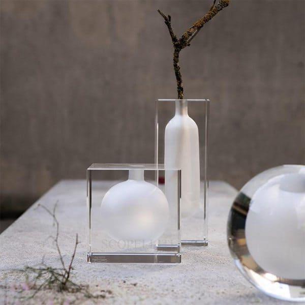 vaso 22 cm blockglas di rosenthal studio-line