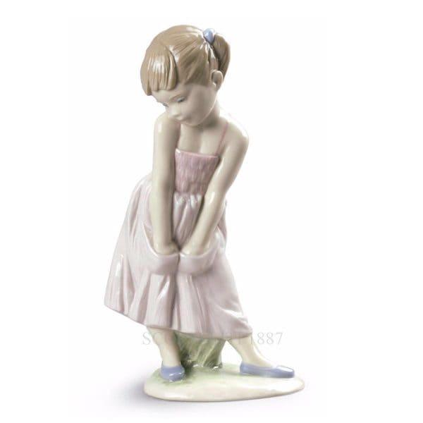 Lladrò - Statua Dolce timidezza