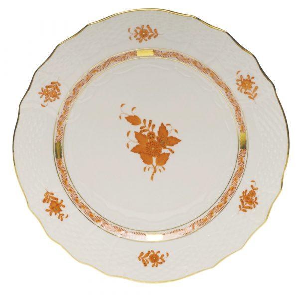 Servizio piatti 41 pz. Apponyi AOG Rocaille arancio di Herend