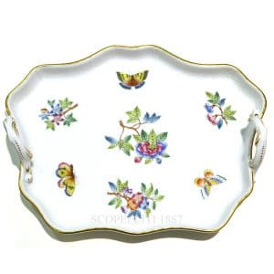 vassoio di porcellana di Herend