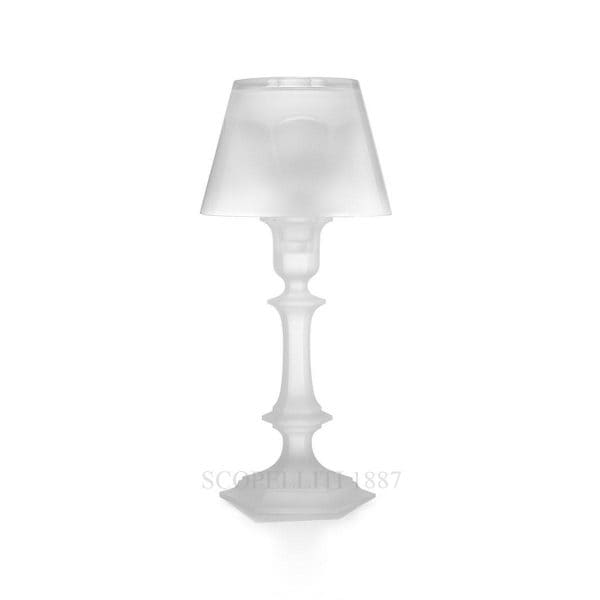 Candeliere Harcourt Our Fire bianco Baccarat