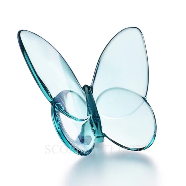 baccarat farfalla turchese