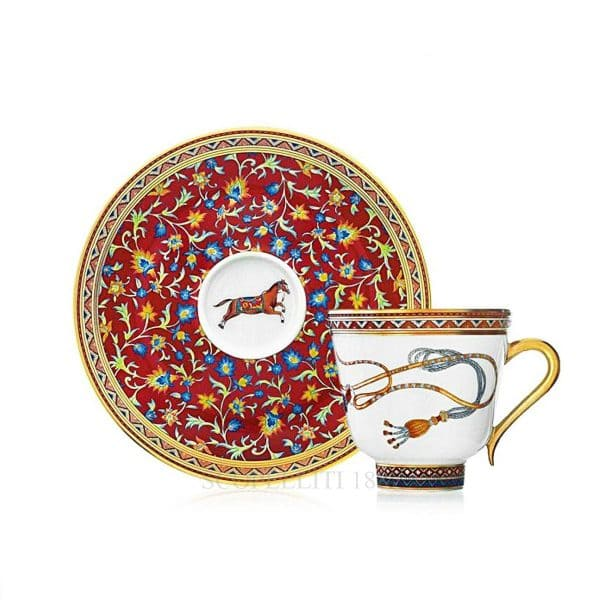 The coffee cup of Hermes cheval d'orient