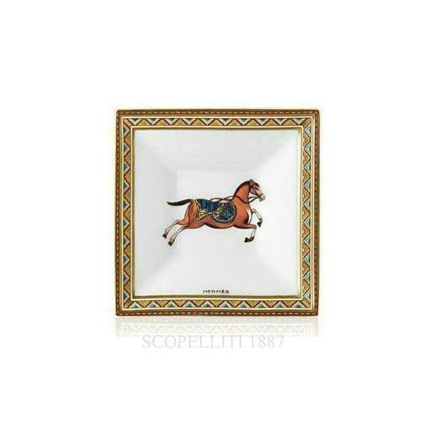 Bomboniera 7x7 cm Cheval d'orient Hermès