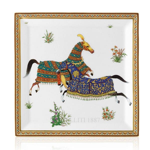 the plate of Hermes for luxury gift