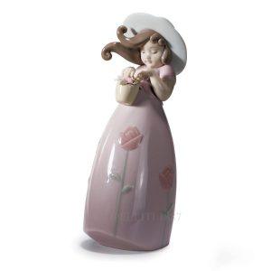 Lladrò - Statua Piccola Rosa