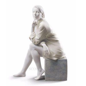 Lladrò - Statua Un momento di tranquillità