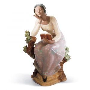 Lladrò - Statua Ragazza che legge