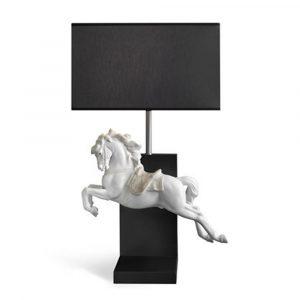 Lladrò - Lampada Cavallo in pirouette