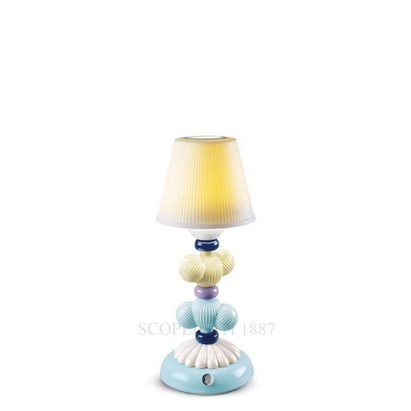 Lladrò - Lampada Firefly Cactus giallo-azzurro
