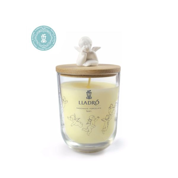 Lladro Tropical Blossoms Dreaming Of You Candle