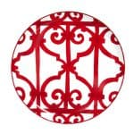 Piatto torta 32 cm Balcon de Guadalquivir Hermès