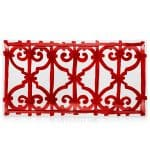 Piatto rettangolare Balcon de Guadalquivir Hermès