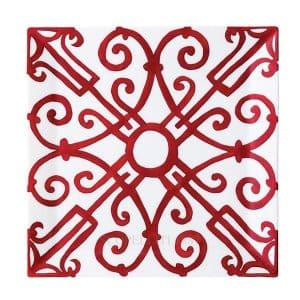 square plate of Balcon du Guadalquivir Hermes
