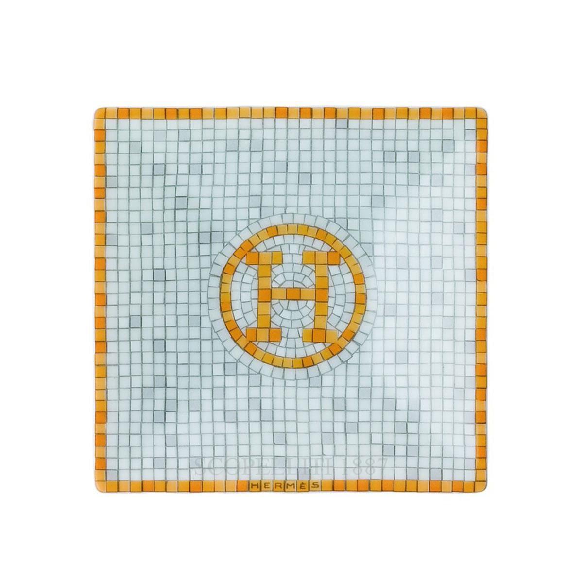Bomboniera 7x7 cm Mosaïque au 24 Hermès