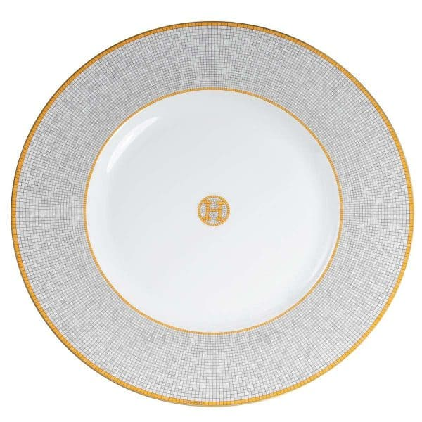 the plate of Hermes mosaique