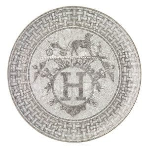 the round plate of Hermes Mosaique