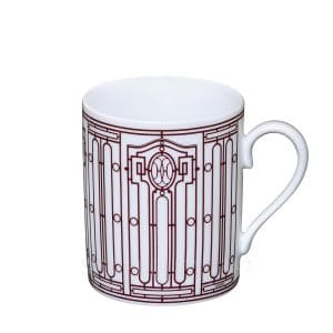 The coffee mug of Hermes porcelain