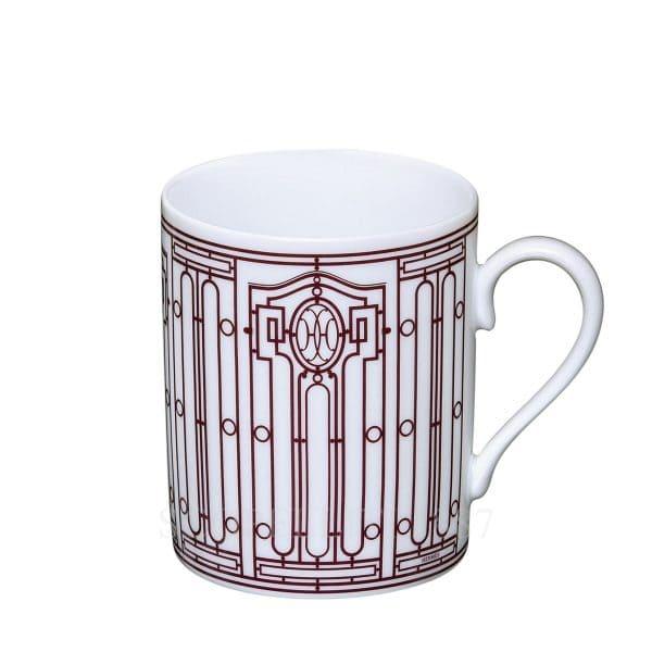 The coffee mug of Hermes porcelain
