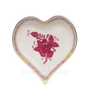 piattino forma cuore