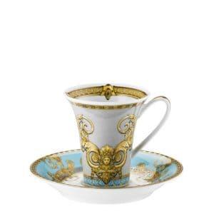 "Set tazze espresso 6 pz ""Prestige Gala Le Bleu"" di Rosenthal Versace"