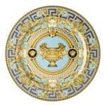 """Piatto segnaposto 30 cm """"Prestige Gala Le Bleu 2"""" di Rosenthal Versace"""