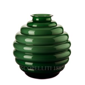 vaso di Venini decò verde mela