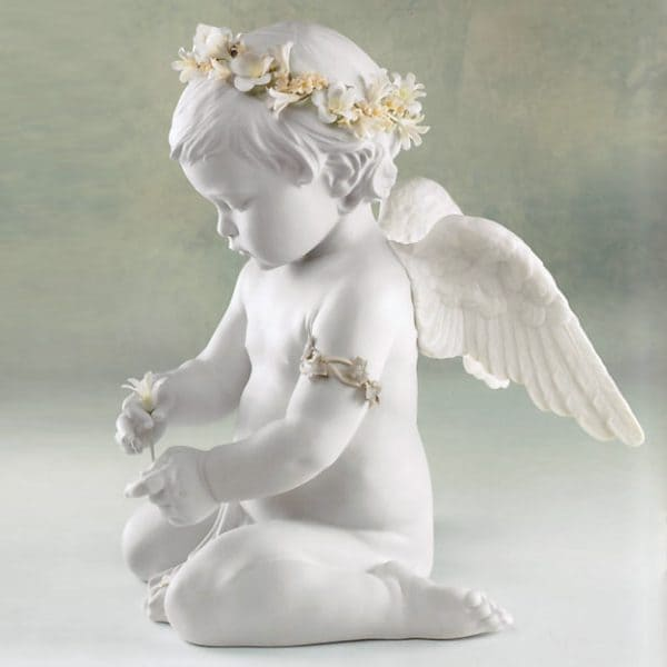 Lladro Cherub Of Our Love