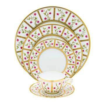 Bernardaud servizio tavola in porcellana Limoges Ancienne Manifavture Royal porcellana blu liste nozze Reggio Calabria